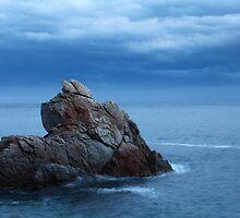 seascape  rock in the sea by mrivserg
