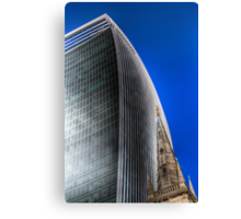 Ancient and Modern London Canvas Print
