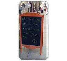Inspiration Can Be Found Anywhere iPhone Case/Skin