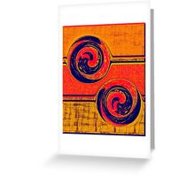 0524 Abstract Thought Greeting Card