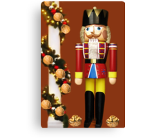 ˛★*  GET CRACKING WITH CHRISTMAS NUTCRACKER ˛★* Canvas Print