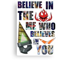 Gurren Lagann Kamina Quote Canvas Print