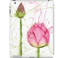 Splash Lotus and Bud iPad Case/Skin