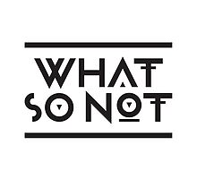 What so not - logo by luigi2be