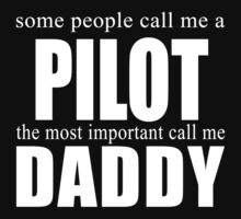 Some People Pilot T-shirt by musthavetshirts