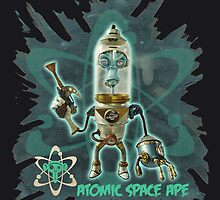 Atomic Space Ape by PickledCircus