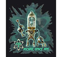 Atomic Space Ape Photographic Print