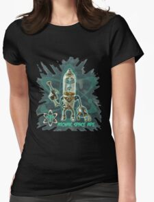 Atomic Space Ape Womens Fitted T-Shirt