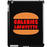 Galeries Lafayette Singapore - Black iPad Case/Skin