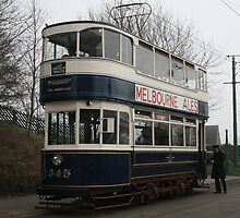 Leeds Tramcar No 345 by RedHillDigital