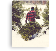 Christmas Tree Farm Canvas Print