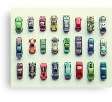 Toy Car Collection Canvas Print