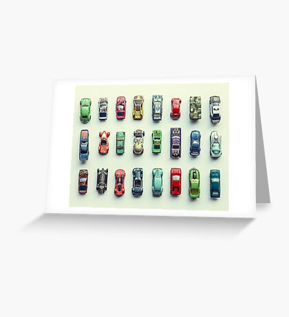 Toy Car Collection Greeting Card