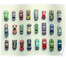 Toy Car Collection Poster