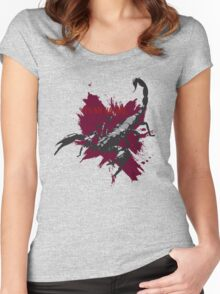 Scorpions Nature Women's Fitted Scoop T-Shirt