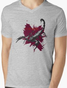 Scorpions Nature Mens V-Neck T-Shirt