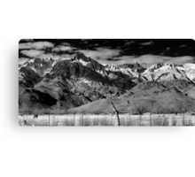 View from the Motel Canvas Print