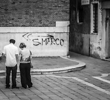 Which Way To San Marco? (2010) by Andy Parker