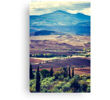 Colours of Tuscany (2010) Canvas Print
