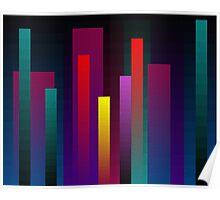 More Vertical Rectangular Blends Poster