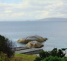 Two Rocks, Albany, Western Australia by Elaine Teague