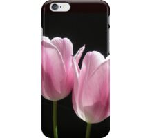 Two Pink Tulips iPhone Case/Skin