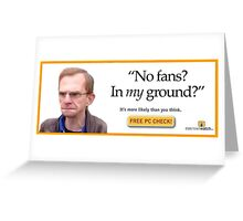 Wealdstone Raider PC Repair Greeting Card