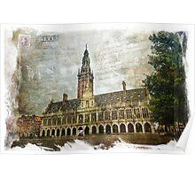 KU Leuven Library, Belgium | Forgotten Postcard Poster