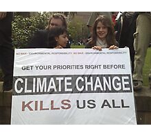 climate change? Photographic Print