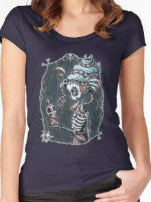 Love and Death Women's Fitted Scoop T-Shirt