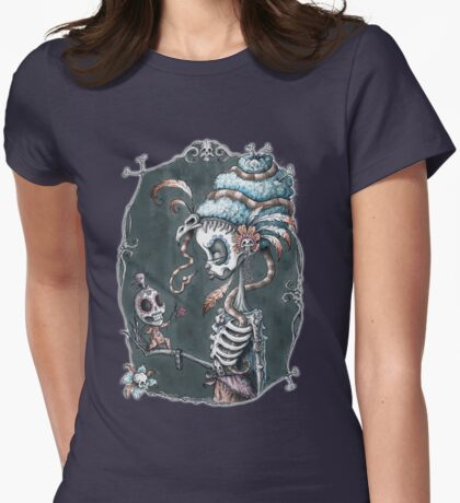Love and Death Womens Fitted T-Shirt