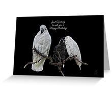 Cockies on a Twig Greeting Card