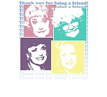 The Golden Girls Photographic Print