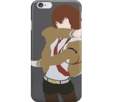 Makise Kurisu (Steins;Gate Minimalist Print) iPhone Case/Skin
