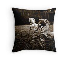 Forgotten Childhood Throw Pillow