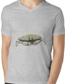 Bill Crab Mens V-Neck T-Shirt