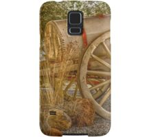 """Little antique wagon on display at the """"Vroue Monument"""" in Bloemfontein, South Africa Samsung Galaxy Case/Skin"""