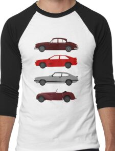 The Car's The Star: UK Detectives Men's Baseball ¾ T-Shirt