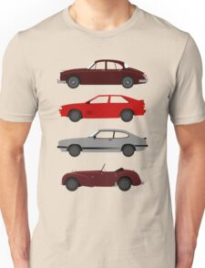 The Car's The Star: UK Detectives Unisex T-Shirt