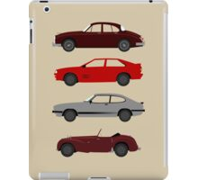The Car's The Star: UK Detectives iPad Case/Skin