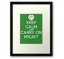Mr. Mackey m'kay? Framed Print