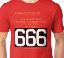 Aphrodite's Child - 666 Unisex T-Shirt