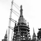 Temple Under Construction by lemontree