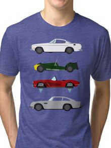 The Car's The Star: Spies Tri-blend T-Shirt