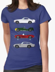 The Car's The Star: Spies Womens Fitted T-Shirt