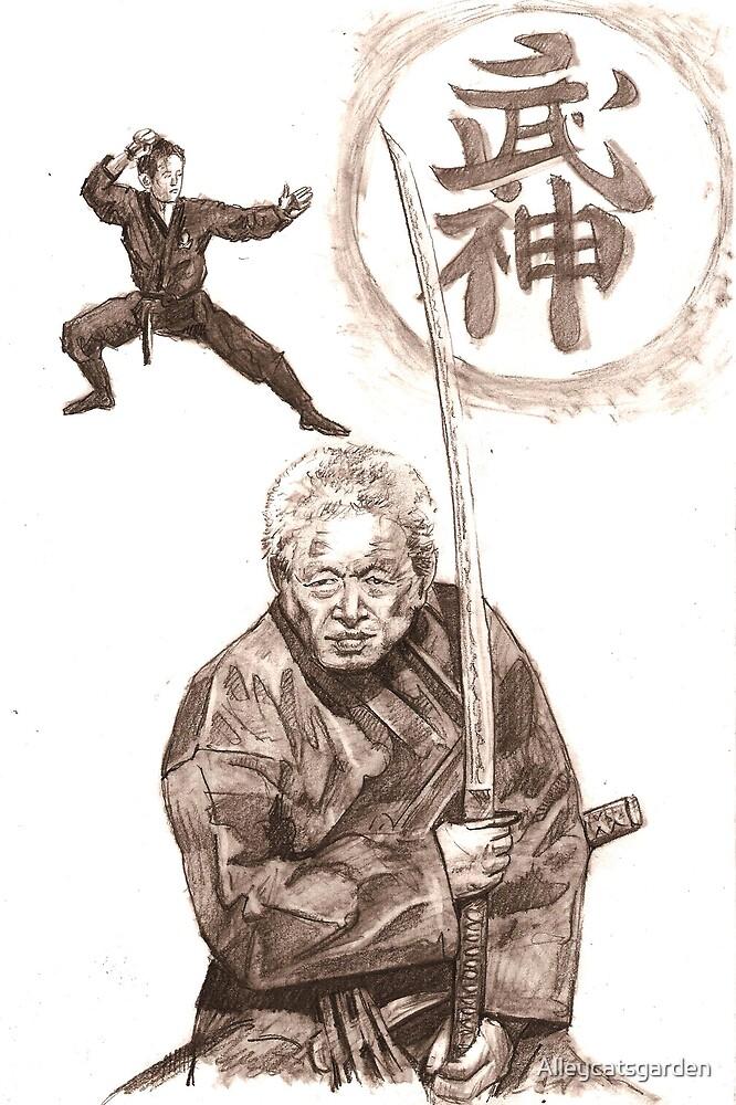 dr. Hatsumi sensei by Alleycatsgarden