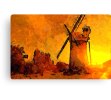 Horsey Windmill, Norfolk Broads - all products Canvas Print