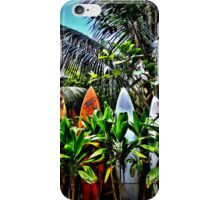 A Fence In Haiku iPhone Case/Skin