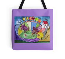To be a child again. (inspired by Boris Posavec) Tote Bag