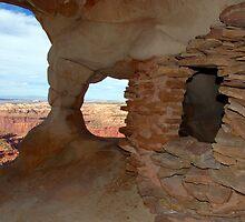 """Anasazi Grainery"" by David Lee Thompson"